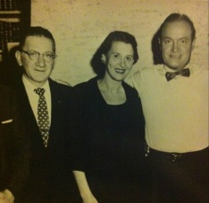 My grandparents with Bob Hope