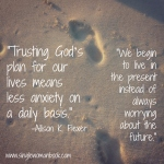 Trust God's Plan